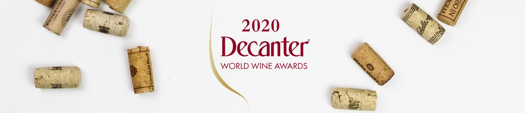 Tre medaglie dai Decanter World Wine Award 2020